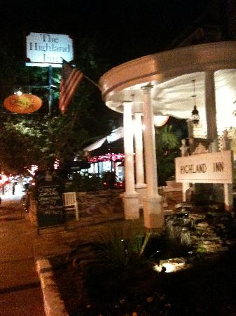 The Highland Inn: on Highland Avenue near Ponce de Leon