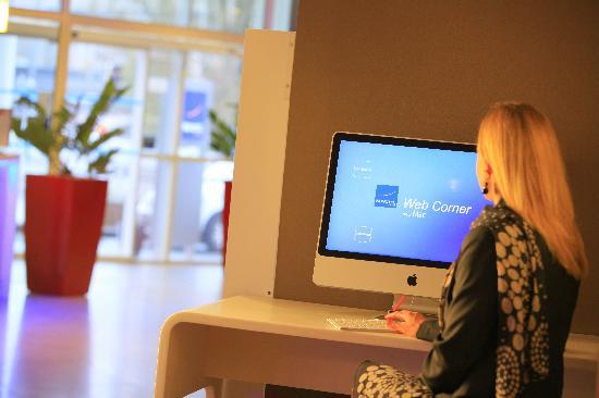 Novotel Nantes Centre Bord de Loire : Web Corner