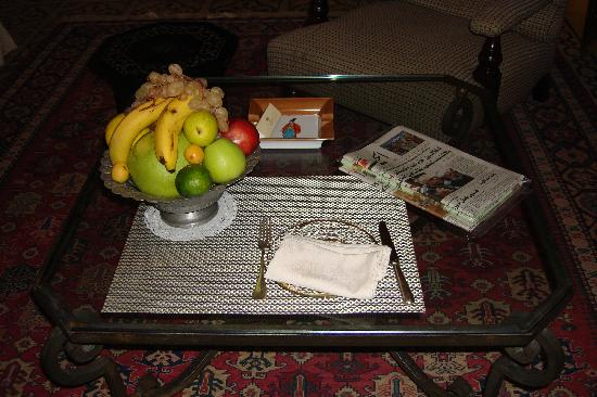 Hotel Albergo: free daily fruit bowl