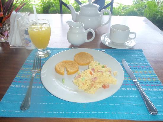 Playa Venao, Panama: Breakfast
