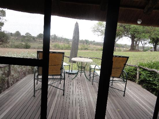 Mala Mala Private Game Reserve, Sydafrika: View from room