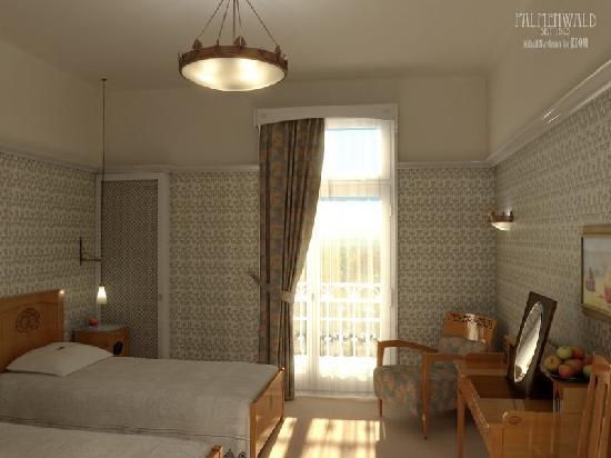 Hotel Palmenwald Schwarzwaldhof: Musterzimmer