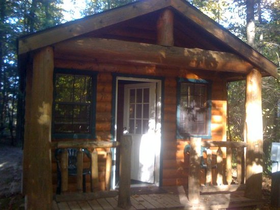 Door County Camping Retreat: Outside Cabin #52 2009