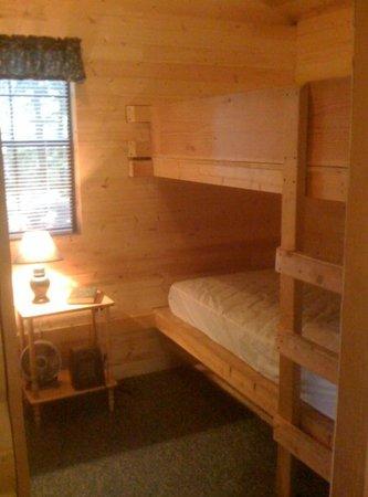 Door County Camping Retreat: Inside Cabin #52 2009