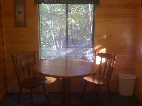 Door County Camping Retreat: Inside Cabin #52 2009