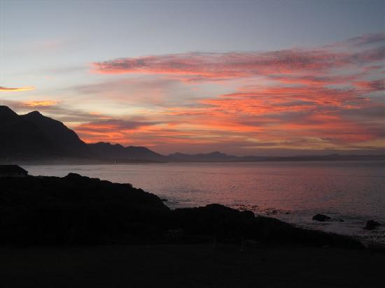 The Marine Hermanus: Sunset