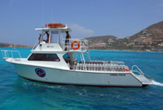 "Scuba Fun Dive Center: Our Dive Boat ""Coral Palm"""