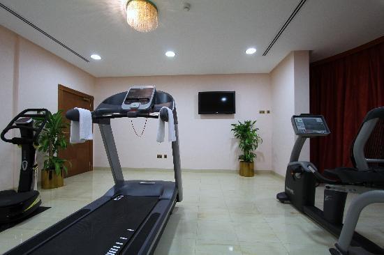 Al Madina Suites: Gymnaseum