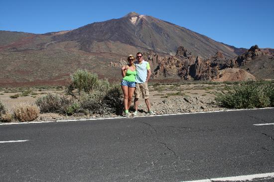 Tenerife Self Catering - La Bodega: me, him and el teide