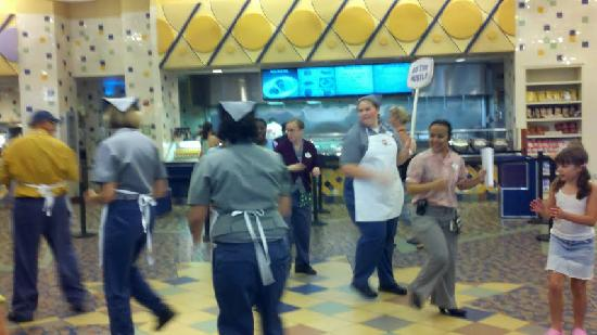 Disney's Pop Century Resort: Or Join in and DO THE HUSTLE!
