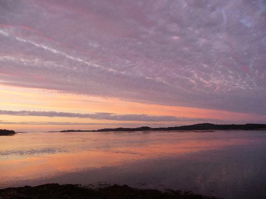 Eastport, ME: Sunset, Harris Point