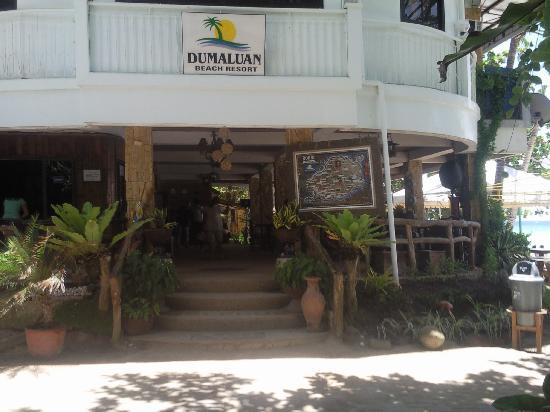 Dumaluan Beach Resort 2: Dinning Hall Entrance