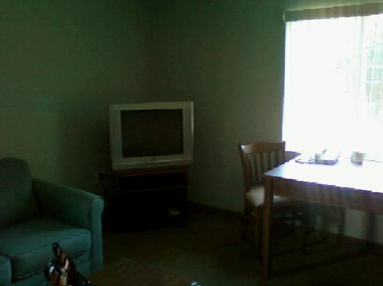 Affordable Suites of America, Greenville: tv in living room