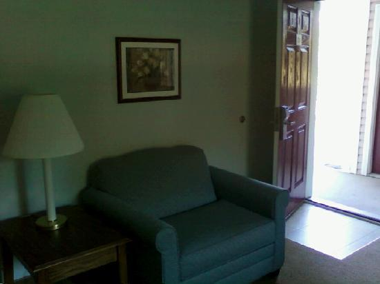 Affordable Suites of America, Greenville: living room