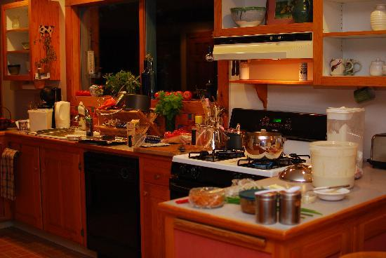 Clifford Country Bed & Breakfast: Kitchen