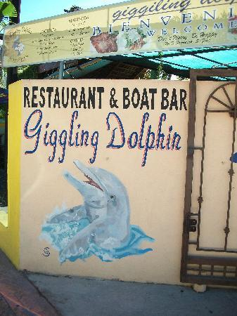 Giggling Dolphin Restaurant and Boat Bar: Giggling Dolphin