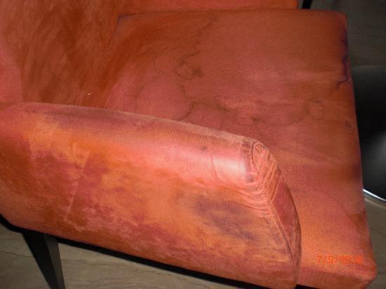 Hotel Exe Vienna: sillas asquerosas