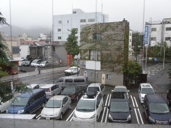 Ravie Kawaryo: View from my room - the car park