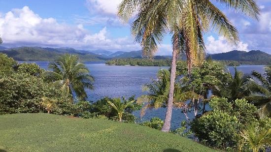 Tavanipupu Island Resort: The view from the top