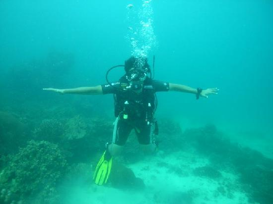 Infinity Diving: Myself During the training.
