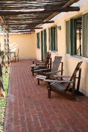 Amadeus Garden: Ansicht der zurückliegenden Zimmer