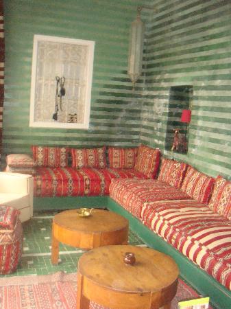 Riad Vert Marrakech: salon