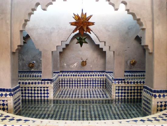Hotel Azur: Hallway