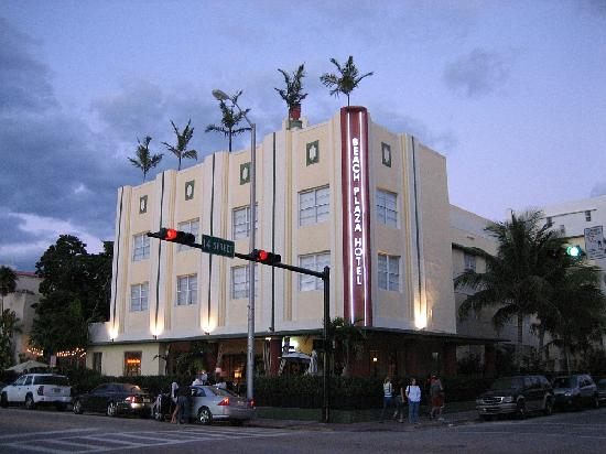 The Beach Plaza Hotel Exterior
