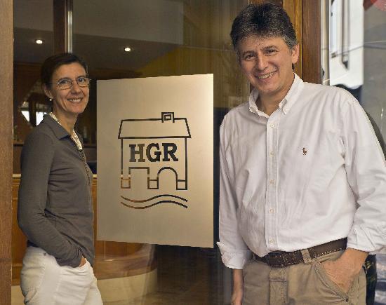 Hotel Garni Riviera: Elisa e Gian