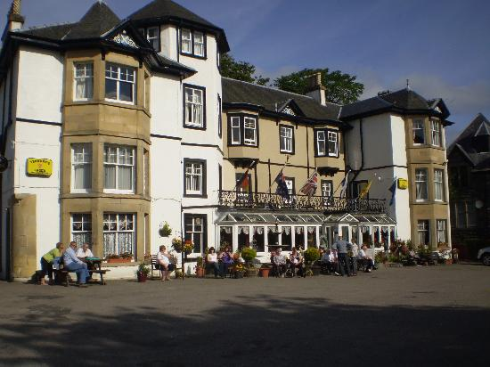 Strathpeffer, UK: Hotel Main building