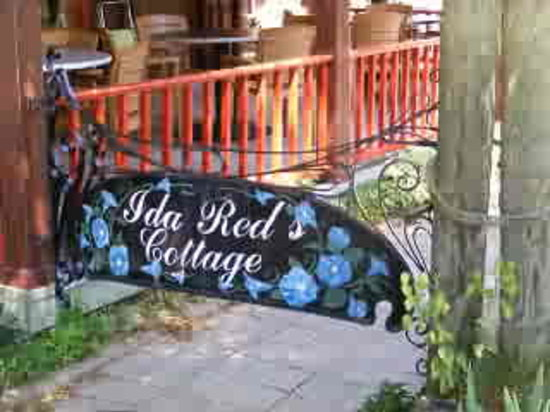 Ida Red's Cottage: The Gate