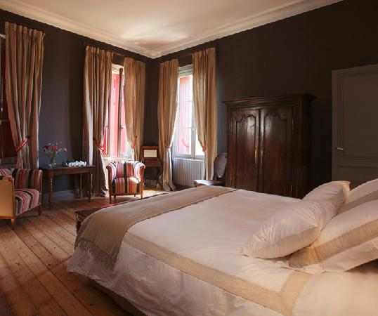 Chateau Lavergne-Dulong - Chambres d'hotes: Chambre Madeleine