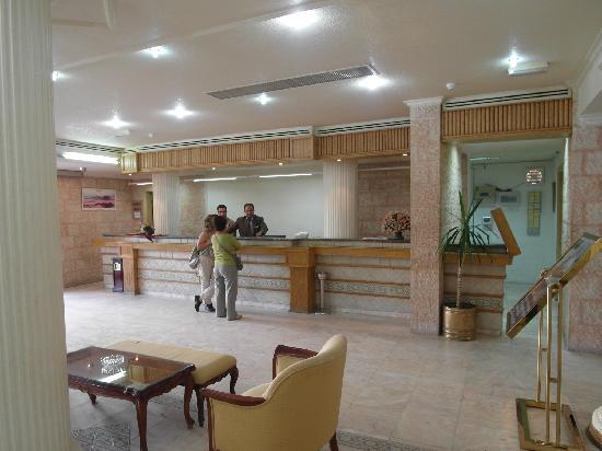 Edom Hotel Petra: Lobby of the hotel