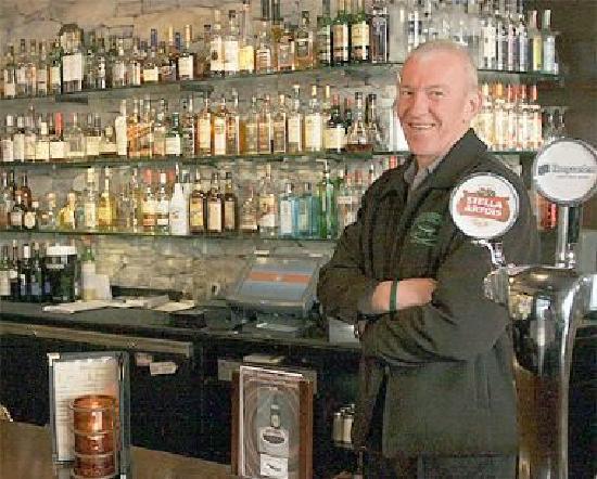 Paddy Coyne's Irish Pub: The man - the legend !