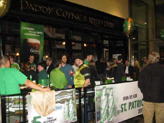 Paddy Coyne's Irish Pub: St. Patrick's Day