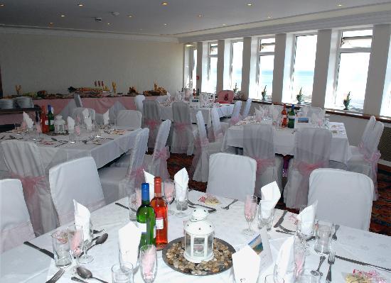 Wiseman's Bridge Inn: pictures inside the restaurant on our wedding day