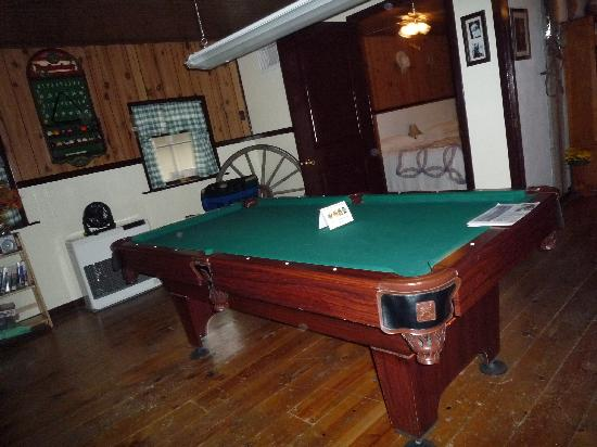 The Aspen Inn: The Pool Table