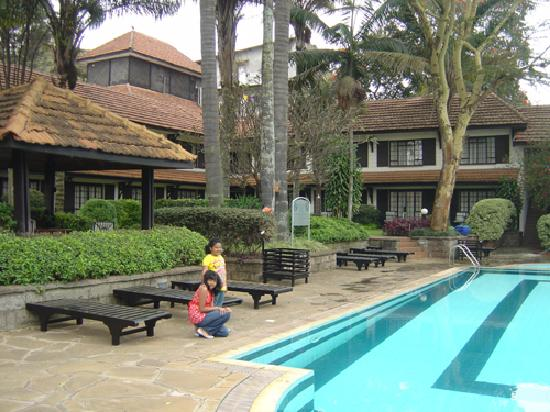 Pool side near the restaurant picture of southern sun for Pool garden restaurant nairobi