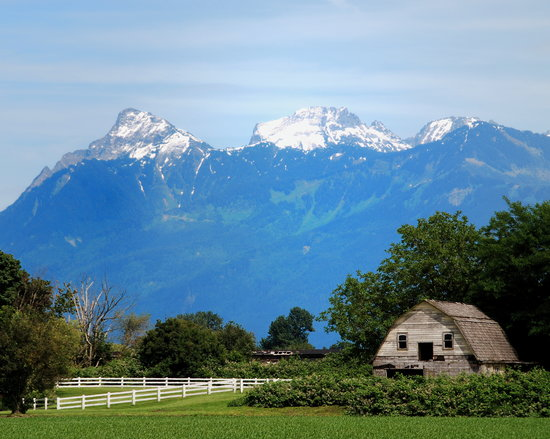 Chilliwack, Canada : Spectacular Mount Cheam