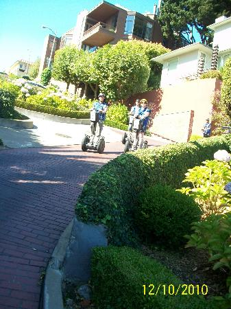 Electric Tour Company Segway Tours: Lombard Street (World's Crookedest Street)