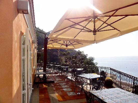 Hotel Botanico San Lazzaro : This was our location choice for breakfast each morning.