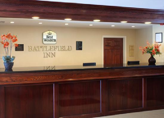 貝斯特韋斯特戰場酒店照片