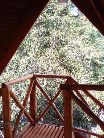 De la Plaza Aparthotel: Vista balcon habitacion