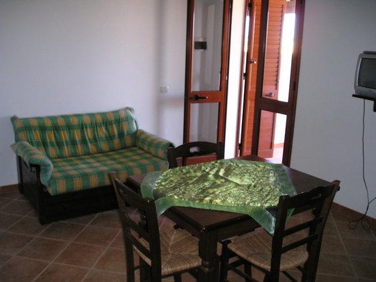 Residence Punta Sottile : Sala- cucina 2