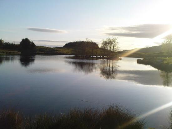 Kirkpatrick Durham, UK: Craigadam Loch