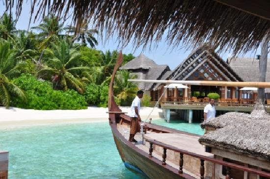 Baros Maldives: Vom Steg mit Blick auf das Lime