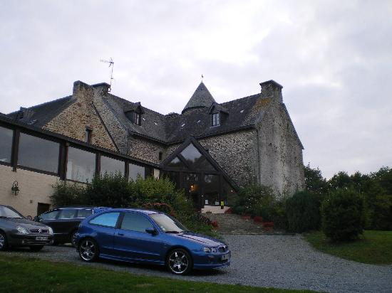 Manoir du Menec : front entrance
