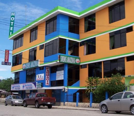 Hotel Siren's Amazonia : Vista Frontal de Sirenis Amazonia