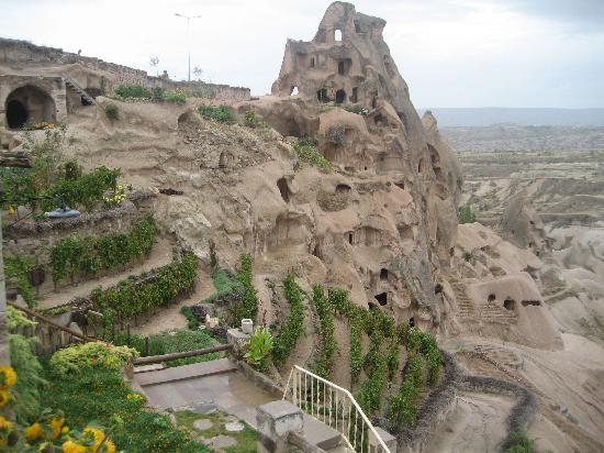Argos in Cappadocia: View from hotel restaurant