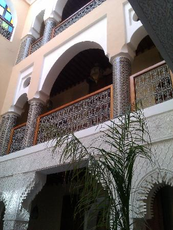 Riad-Boutique Borj Dhab Fez: courtyard views